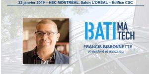 Francis Bissonnette Batimatech HEC Montreal Developpement durable HEC