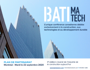 Visuel Plan de partenariat Batimatech 2020